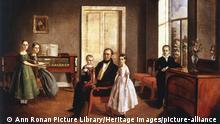 Russland | Familienporträt | Kunstwerk