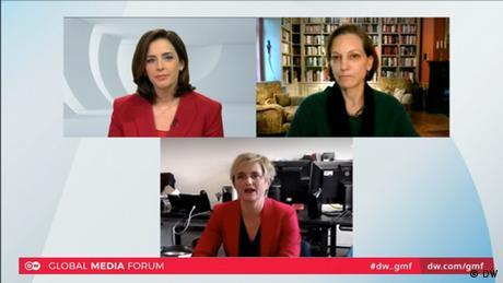 GMF Session | Wahlen und die Medien | Screenshot (DW)