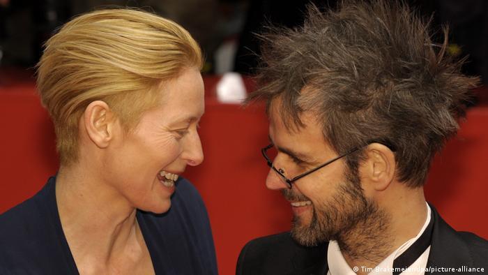 Berlinale 2009 - Premiere Eden is West Tilda Swinton und Christoph Schlingensief