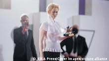 Internationale Filmfestspiele von Venedig 2020 Tilda Swinton