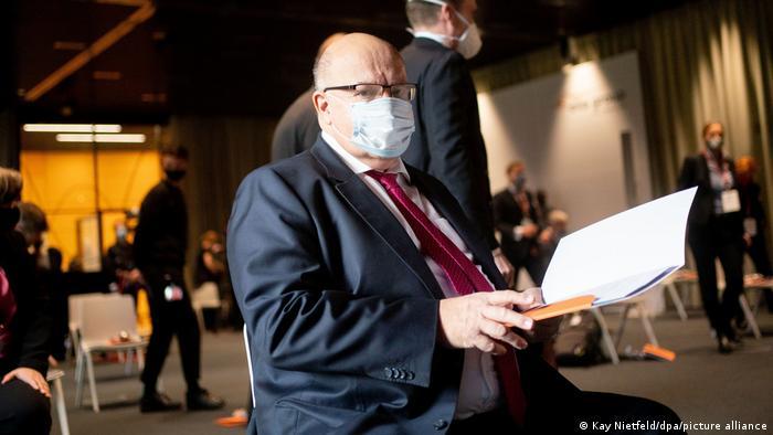 Peter Altmeier CDU mit Maske