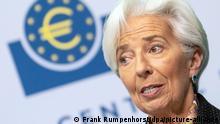 Deutschland Frankfurt | Präsidentin EZB | Christine Lagarde