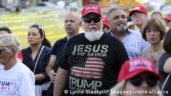 USA Miami   Trump Anhänger   Jorge Alfonso