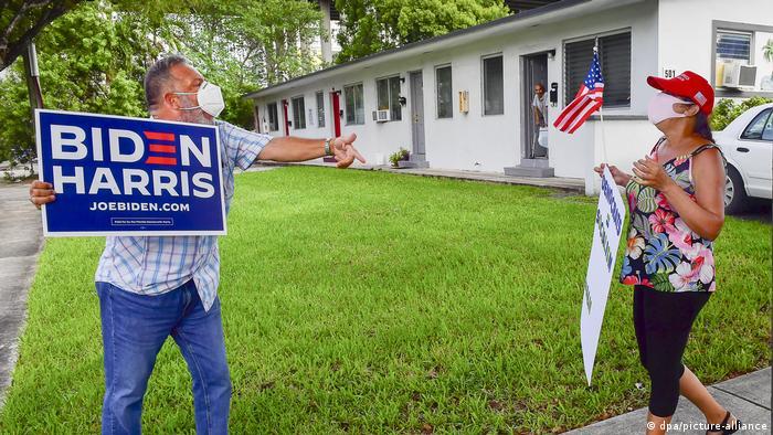 La pelea electoral se ha calentado entre los cubano-estadounidenses, un grupo pequeño pero influyente de votantes que podría ser decisivo en las presidenciales estadounidenses.