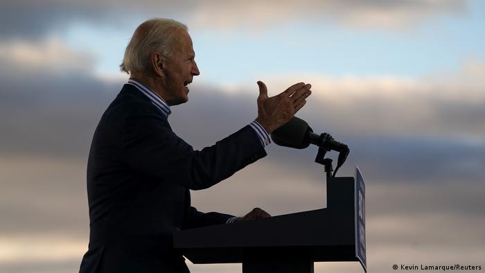 US Wahlkampf Tour Joe Biden Kamala Harris