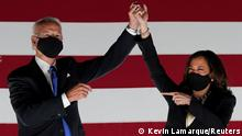 US Wahlkampf Tour Joe Biden Kamala Harris
