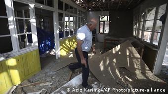 Разрушения в Тертере, Азербайджан