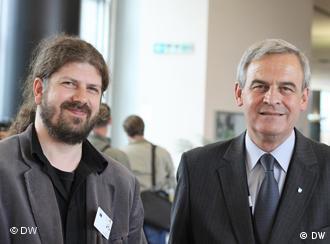 Tökés László (dreapta), aici alături de liderul ecologist, Remus Cernea