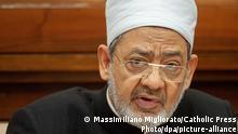 Vatikan 2019 |Ahmad al-Tayyib, Islamgelehrter, Scheich der Azhar