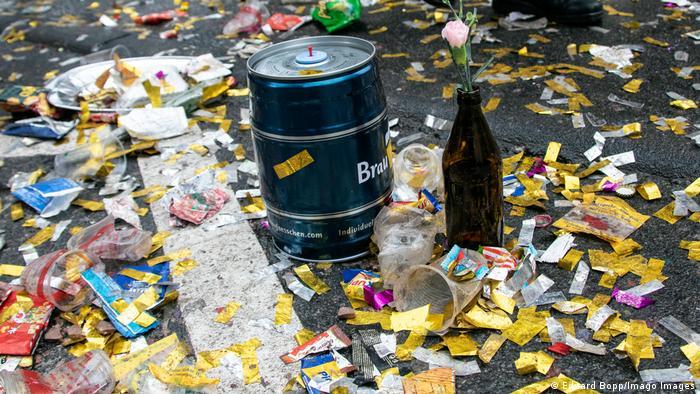 Deutschland Köln | Karneval und Corona | Absage