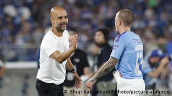 Fußball | Pep Guardiola und Angelino