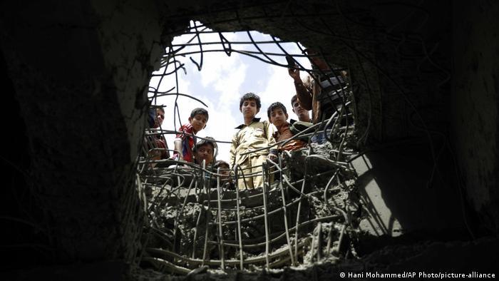 Jemen | Luftangriff auf Sanaa 2016