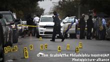 المكان الذي قتل فيه الأمريكي الأسود والتر والاس في فيلادلفيا