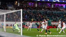 UEFA Champions League  Lokomotive Moskau vs. FC Bayern München   TOR Moskau