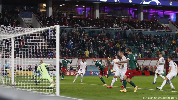 UEFA Champions League |Lokomotive Moskau vs. FC Bayern München | TOR Moskau