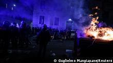Italien I Rom I Ausschreitungen I Coronavirus (Guglielmo Mangiapane/Reuters)