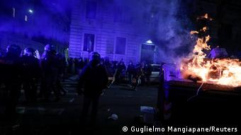 Беспорядки в Риме, 27 октября 2020 г.