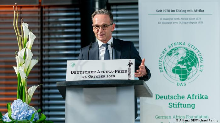 German Foreign Minister Heiko Maas in Berlin
