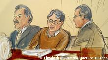 Gerichtsverhandlung I Keith Raniere I NXIVM (Elizabeth Williams/AP/picture-alliance)