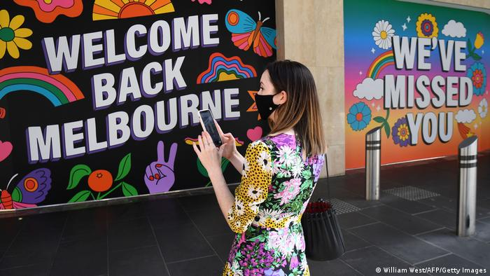 Australien Melbourne | Coronavirus | Ende Lockdown