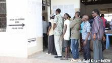 Tansania Daressalam |gemischte Wahlimpressionen