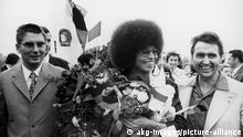 DDR Berlin 1972 |Angela Davis, Bürgerrechtlerin