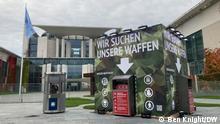 Deutschland Berlin Bundeskanzleramt | Aktion Zentrum für Politische Schönheit