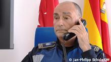 Spanien Madrid DW-Reportage |Kommissar Javier Fernandez