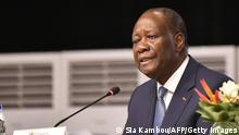 Elfenbeinküste Abidjan | Wahlen | Präsident Alassane Ouattara (Sia Kambou/AFP/Getty Images)