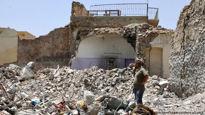 Oraşul irakian Mossul, imagine realizată în 2018, la un an după eliberarea de Statul Islamic