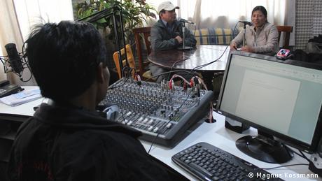 Ecuador | Media | Studio Radio La Voz de Guamote