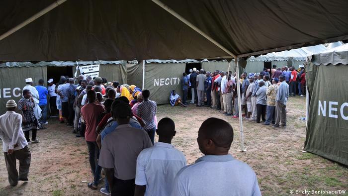 Election day in Tanzania