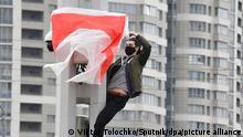 Symbolbild Proteste in Minsk