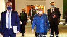 Berlin Kanzlerin Merkel vor PK zu Corona-Maßnahmen