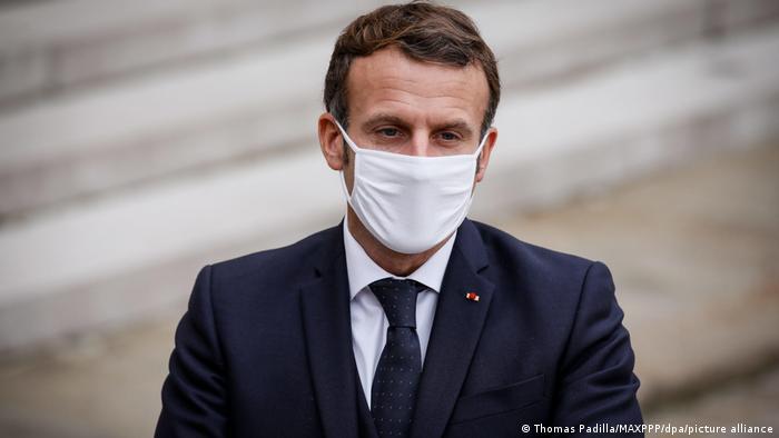 Президент Франции президент Эмманюэль Макрон