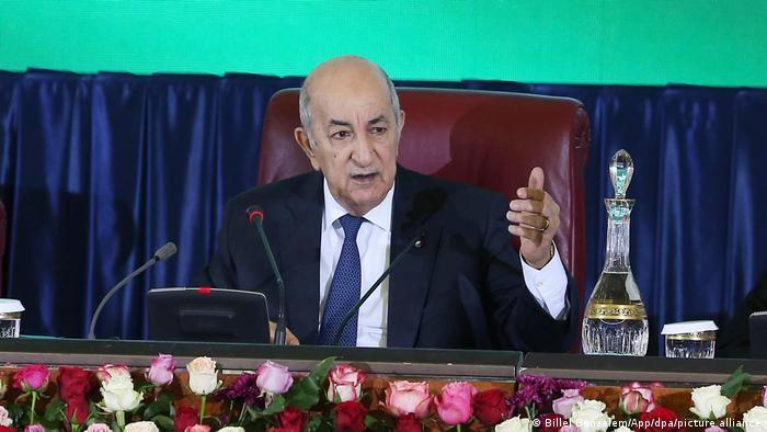Algerien Präsident Abdelmadjid Tebboune