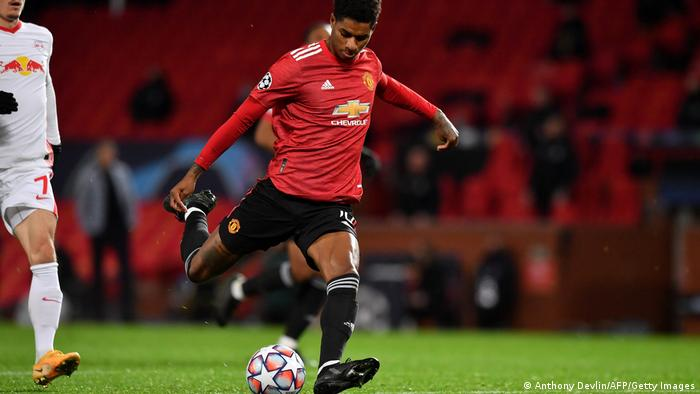 Manchester United vs RB Leipzig I Marcus Rashford Champions League