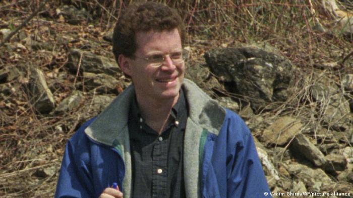 David Rohde in a 1996 file photo