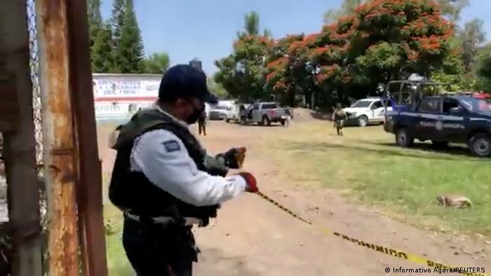 Mexiko I Symbolbild I Tatort in Guanajuato