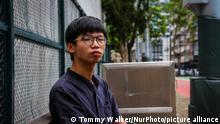Hongkong-Aktivist Tony Chung (Tommy Walker/NurPhoto/picture alliance)