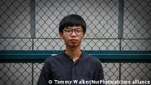 Hongkong Aktivist Tony Chung (Tommy Walker/NurPhoto/picture alliance)