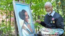 Lemma Guya - Äthiopischer Maler verstorben