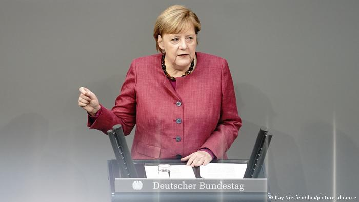 Coronavirus Angela Merkel Defends Lockdown Warns Of Difficult Winter In Germany News Dw 29 10 2020