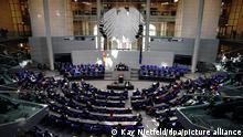 Deutschland Merkel Regierungserklärung Coronavirus Bundestag (Kay Nietfeld/dpa/picture alliance)