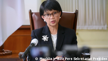 Indonesien Jakarta | Mike Pompeo trifft Joko Widodo: PK nach Treffen mit Retno Marsudi