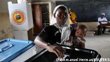 Afrika Tansania Dar es Salaam Wahlen