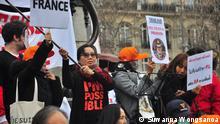 "Frankreich Paris | Aktivistin Suwanna Wongsanoa bei Veranstaltung ""Run against Injustice"" (Suwanna Wongsanoa)"
