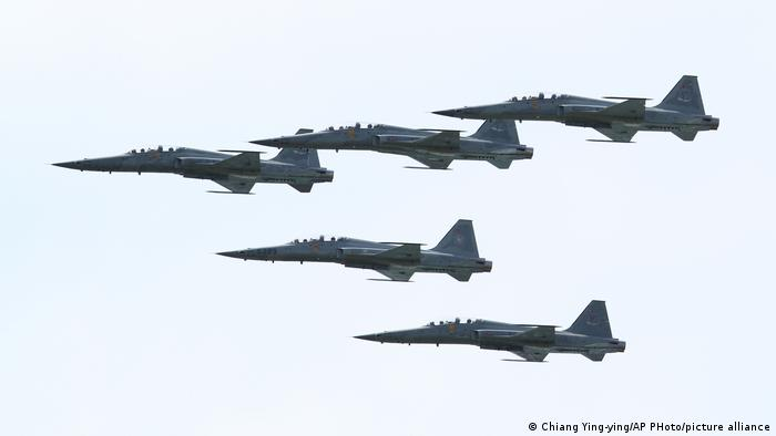 Taiwan Air Force (Chiang Ying-ying/AP PHoto/picture alliance)