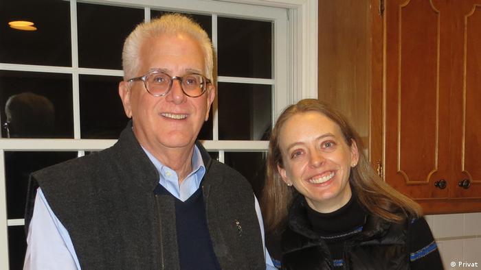 USA Präsidentschaftswahlen |Wahlhelfer | Dan Kortum und Tochter Katherine