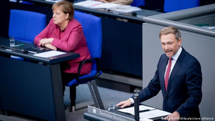 Christian Lindner u Bundestagu